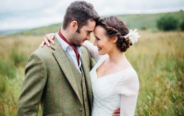 Wild Romance; Elopement Inspiration from the English Moors
