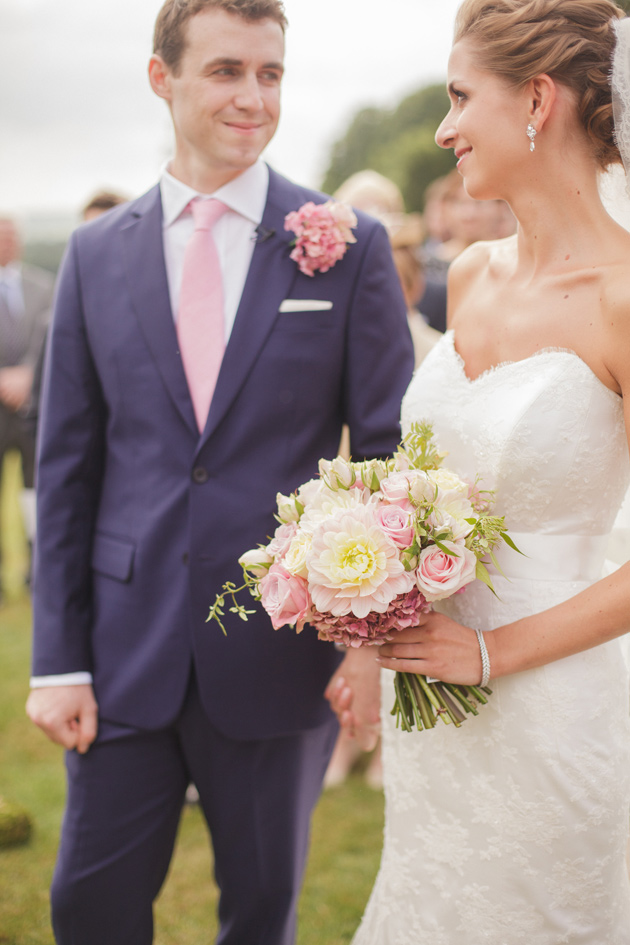 Elegant English Wedding with a Touch of Whimsy