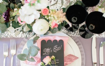 Pink and Sparkly; Fun, Pretty, Gorgeous Wedding Inspiration