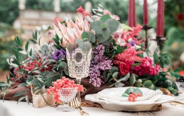 Decadent Wedding Inspiration from Tuscany