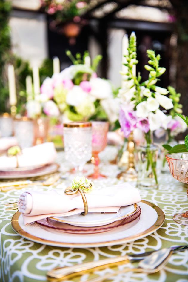 Sophisticated Bohemian Wedding Inspiration
