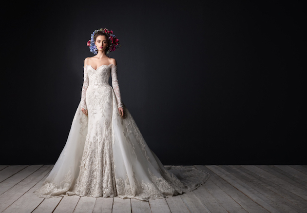The Bridal Collection Real Bride: Fit For A Queen: Rami Al Ali Wedding Dress Collection
