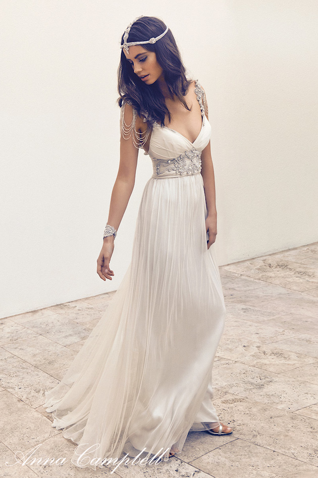 Gossamer New Anna Campbell Wedding Dress Collection Bridal Musings