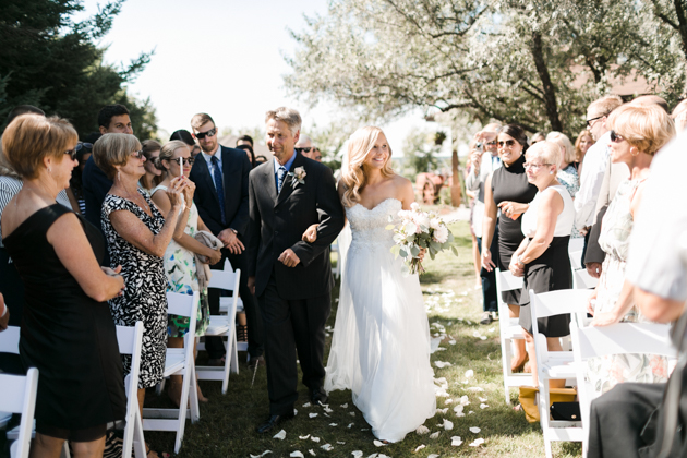 Beautiful Outdoor Wedding with So Many Pretty Details