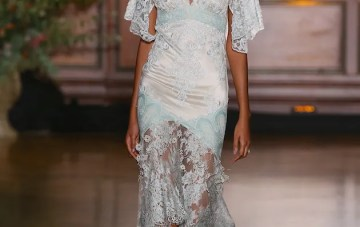 Best of Bridal Fashion Week: Claire Pettibone Wedding Dress Collection