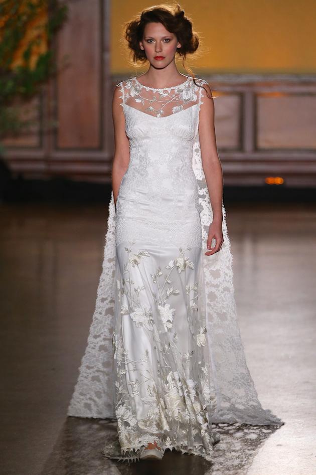 Best of Bridal Fashion Week: Claire Pettibone Wedding Dress Collection