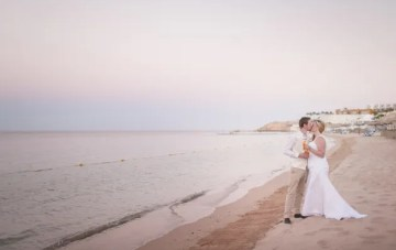 Intimate Destination Wedding in Egypt