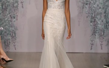 Best of Bridal Fashion Week: Monique Lhuillier Wedding Dress Collection