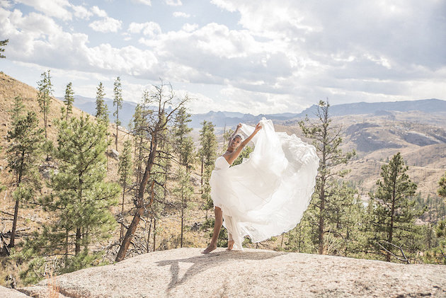 Beautiful Ballet Wedding Inspiration (Perfect for Elopements!)