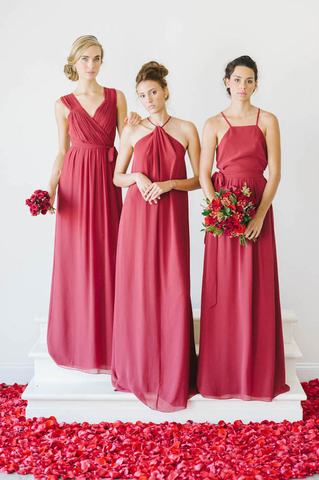 Ceremony by Joanna August; Gorgeous Bridesmaid Dresses