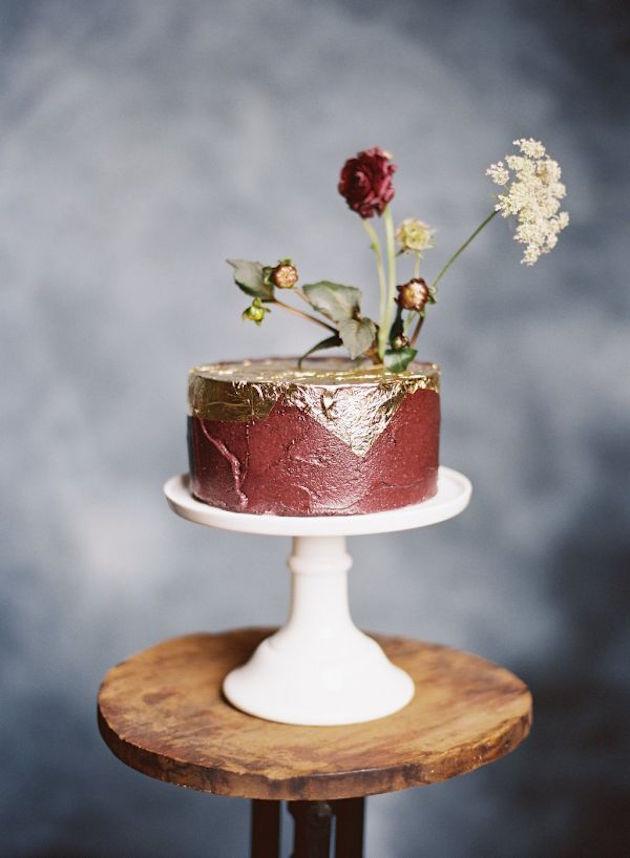 Trend Alert 25 Gorgeous Ideas For Single Tier Wedding Cakes