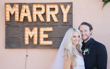 Cool Palm Springs Wedding with Rock 'n' Roll Vibes
