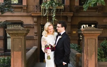 Elegant Brooklyn Wedding with Seriously Glamorous Style