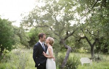 Clean, Modern, Chic Austin Wedding