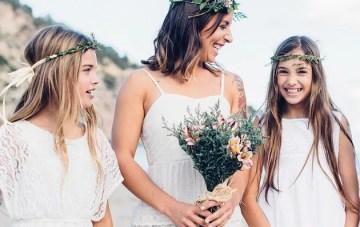 Boho, Beachy & Super Cute Flower Girl Inspiration