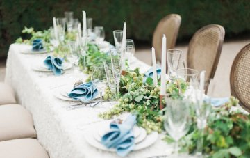 Hops and Blues; Pretty Tuscan-Inspired Wedding Shoot