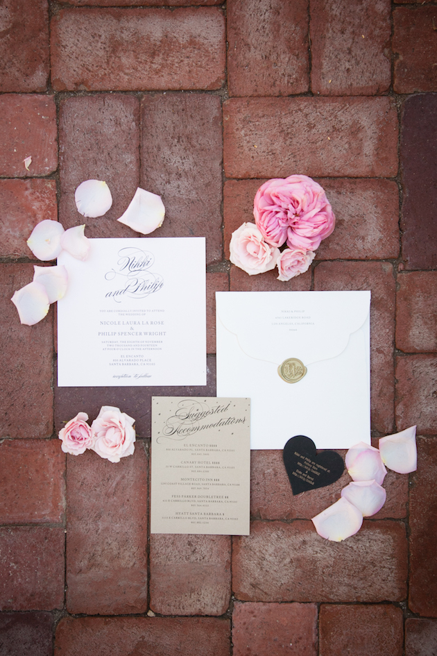 romantic pink wedding with a touch of rock n roll