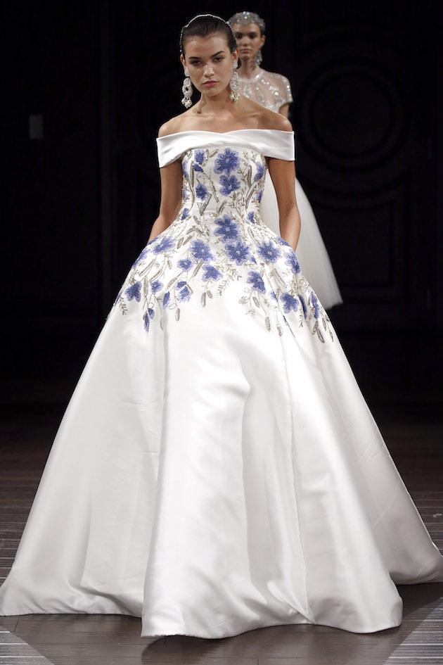 Naeem Khan Wedding Dress Collection Spring 2017