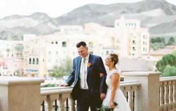 Beautiful Garden Wedding at Lake Las Vegas
