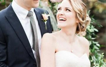 Pretty English Garden Wedding Inspiration