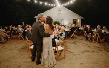 Relaxed Ranch Wedding Amid the Trees and Under the Stars