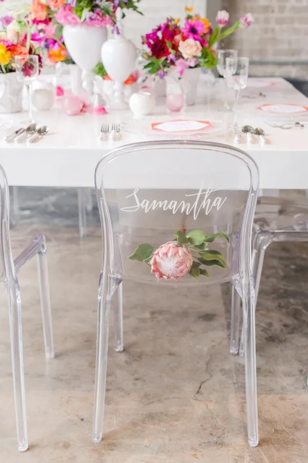 Gorgeous Chair Ideas for Weddings