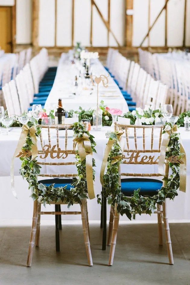 Gorgeous Wedding Chairs