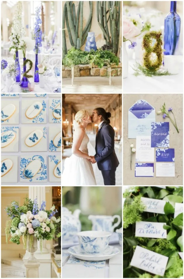Gorgeous China Blue Wedding | Sarah Gawler | Knot & Pop | Bridal Musings Wedding Blog