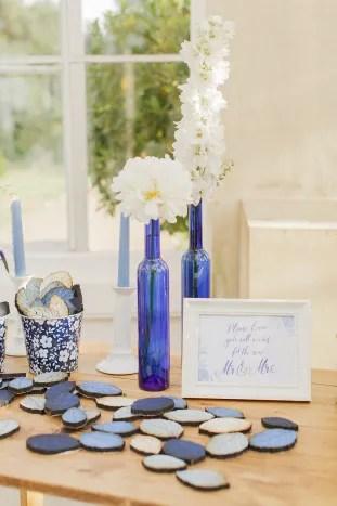 Gorgeous China Blue Wedding | Sarah Gawler | Knot & Pop | Bridal Musings Wedding Blog 14