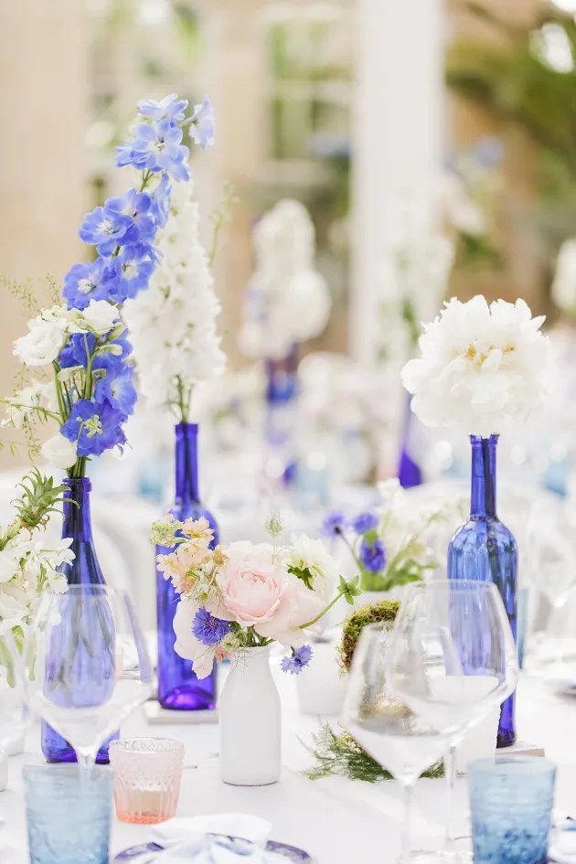 Gorgeous China Blue Wedding | Sarah Gawler | Knot & Pop | Bridal Musings Wedding Blog 9