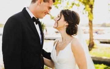 Classic & Elegant Wedding with Fresh Navy & White Hues