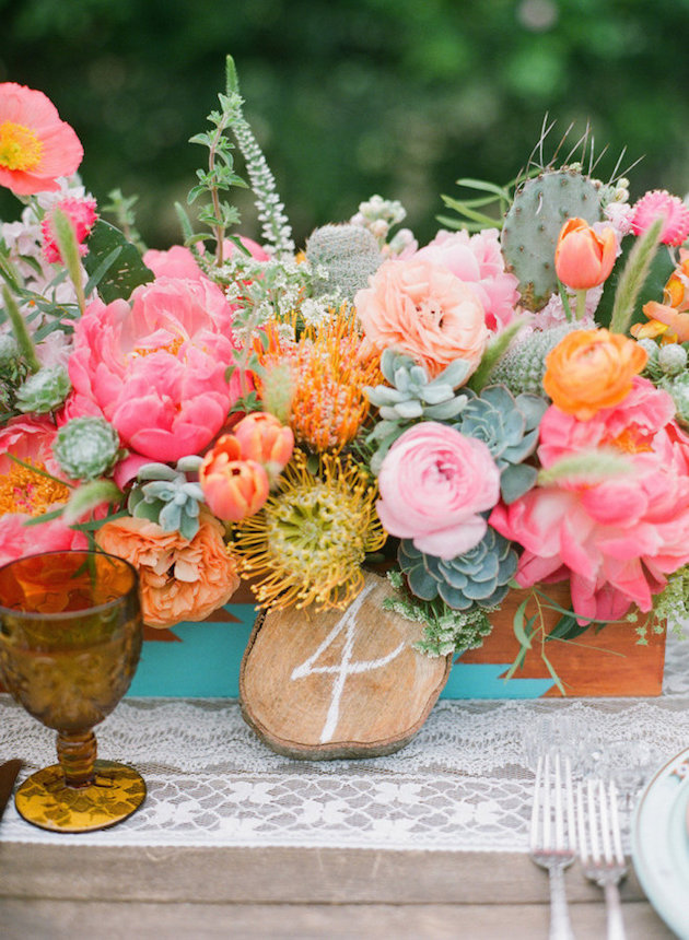 Trend Alert: How to Use Prickly Pear Cactus Paddles for your Wedding