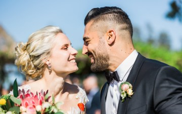 Stylish Wedding in Portugal with Gorgeous Protea Decor