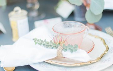 Pretty Afternoon Tea Garden Wedding Inspiration