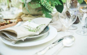 Earthy & Natural Backyard Wedding Inspiration
