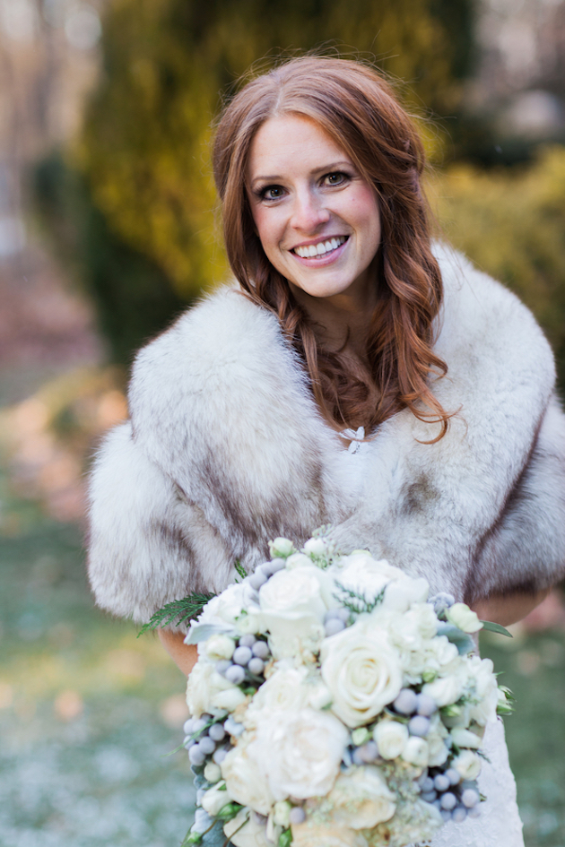 10 Bridal Cover Ups For Winter Weddings