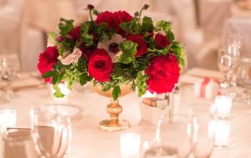 Elegant Christmas Wedding with Chic Timeless Style