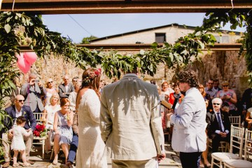 Our Editor Claire's Laid-Back Barn Wedding in Ireland