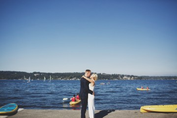 Cool Seattle Wedding by Claire Eliza Photography 20