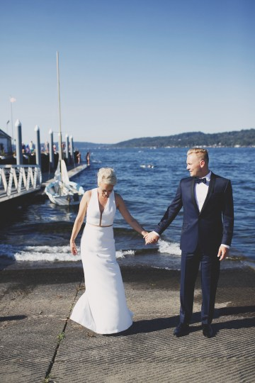 Cool Seattle Wedding by Claire Eliza Photography 57