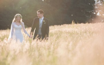 Vintage Countryside Wedding in England