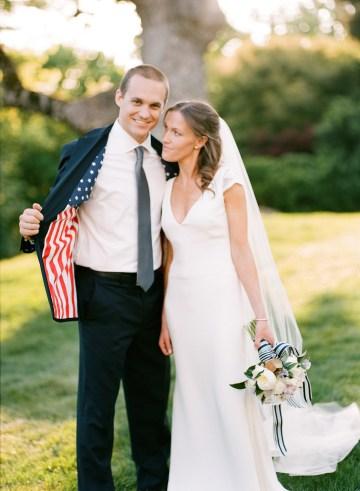 Preppy & Patriotic Wedding by Jamie Clayton and Fete Nashville 1
