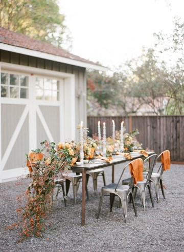 Rustic Fall Wedding Inspiration by Sylvia Gil Photography and Kate Siegel 11
