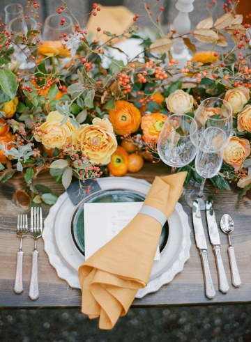 Rustic Fall Wedding Inspiration by Sylvia Gil Photography and Kate Siegel 14