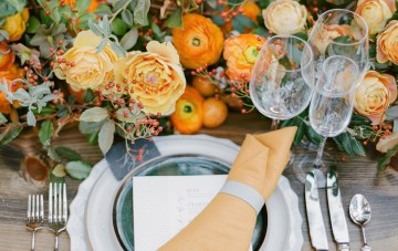 Our Favorite Fall Wedding Inspiration To Make You Feel Cozy Inside