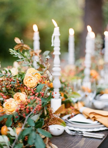 Rustic Fall Wedding Inspiration by Sylvia Gil Photography and Kate Siegel 15
