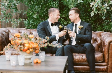 Rustic Fall Wedding Inspiration by Sylvia Gil Photography and Kate Siegel 39