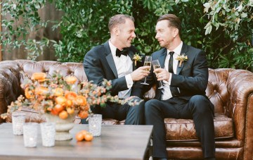 Elegantly Rustic Fall Wedding Inspiration