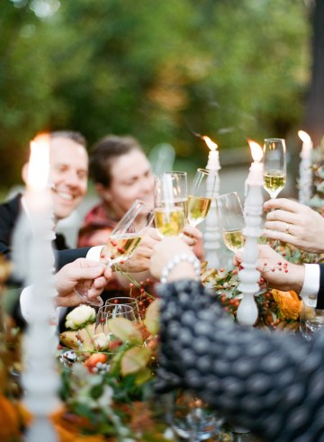 Rustic Fall Wedding Inspiration by Sylvia Gil Photography and Kate Siegel 43