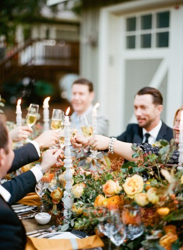 Rustic Fall Wedding Inspiration by Sylvia Gil Photography and Kate Siegel 44